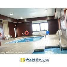 Swimming Pool Canopy by Indoor Pool Lighting Led Upgrade For A Nebraska Hotel
