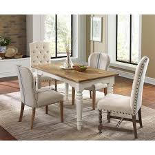 warrenton natural hand tufted dining room chair