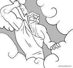 imagenes de zeus para dibujar faciles dibujo para colorear de zeus imagui