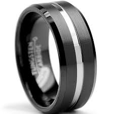 s tungsten wedding rings 8mm two tone high matte finish s tungsten ring