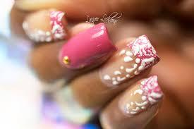 lacquer lockdown moyra embellished abstract nail art