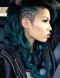 45 undercut hairstyles with hair tattoos for fashionisers