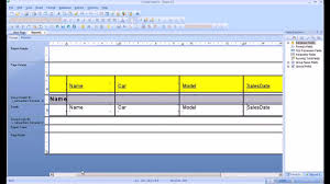 database design tutorial videos crystal reports tutorial create a report sort and group data