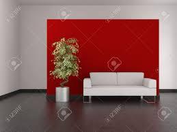 modern living room red home design ideas