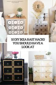 Ikea Rast Nightstand 10 Diy Ikea Rast Hacks You Should Have A Look At Shelterness