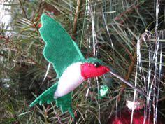 hummingbird felt ornament hummingbird ornament and felting