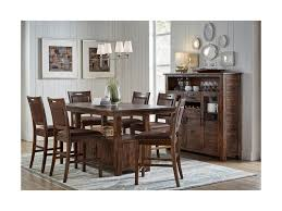 jofran cannon valley high low table and chair set great american jofran cannon valley jofr grp 1511 hightbl 6 high low table and chair set