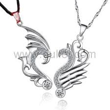 silver dragon pendant necklace images 2 piece dragon pendants necklaces for best friends sterling silver jpg