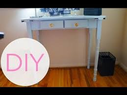 Diy Small Desk Diy Project Small Writing Desk 2 Up Date