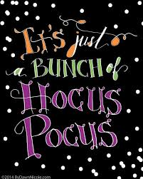free hand lettered hocus pocus printable halloween printable