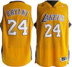 los angeles lakers 24 kobe bryant revolution 30 swingman yellow