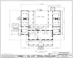 architecture plan this floor plan of the principal floor shows the u shaped layout