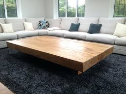 large padded coffee table extra large coffee table big coffee tables extra large coffee tables