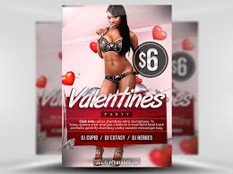 valentines flyer template free s flyer template flyerheroes