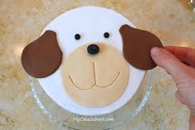 puppy cake a blog tutorial my cake