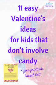 eleven easy valentine u0027s ideas for kids that don u0027t include candy