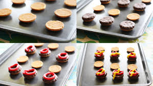 mini burger cookies recipe tablespoon com