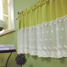 Lace Cafe Curtains Kitchen by Lace Cafe Curtains Promotion Shop For Promotional Lace Cafe