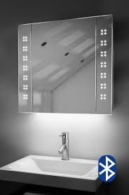 amaze demister bathroom cabinet with colour change under lights