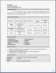 sap abap sample resume india my perfect resume examples