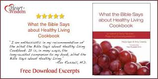 what the bible says about healthy living cookbook of