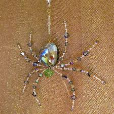 201 best crafts of spiders images on beaded spiders