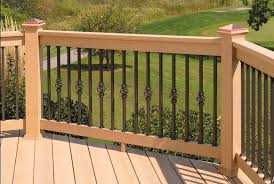 Railings And Banisters 5 Types Of Decorative Deck Railings Salter Spiral Stair