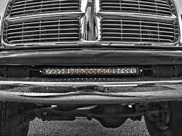 20 In Light Bar 2004 2017 Dodge Ram 2500 3500 Bumper Mount Black Rigid Industries