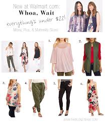 walmart the budget babe affordable fashion style blog whoa wait walmart offers missy maternity and plus size fashions under 25 all at