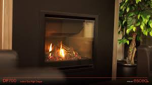 escea df700 gas fireplace youtube