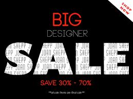 designer sale joan s big designer sale