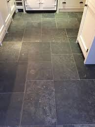 restoring a slate tiled kitchen floor cleaning and