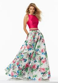 two piece prom dresses morilee