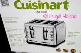 Cuisinart Toaster 4 Slice Costco Sale Cuisinart 4 Slice Toaster 39 99 Frugal Hotspot
