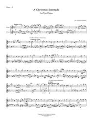 download christmas serenade for two flutes a christmas medley of