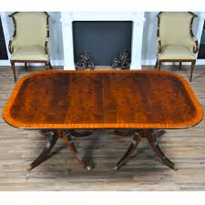 classic mahogany dining table niagara furniture mahogany dining