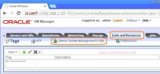 ovm console how to upgrade oracle vm server unixarena