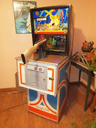 chicago halloween shooting vintage 1974 chicago coin fun land rifle arcade game shooting