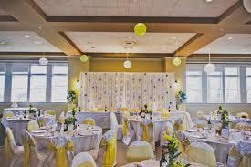 wedding backdrop ideas for reception r r s yellow white wedding alan emmot centre