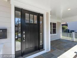 front doors for homes with glass traditional front door with simpson craftsman three panel exterior