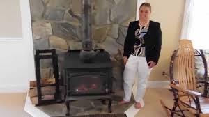 obadiah u0027s 1600 series free standing wood burning stove youtube