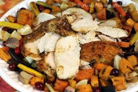 maple orange glazed turkey breast thanksgiving sweet endings
