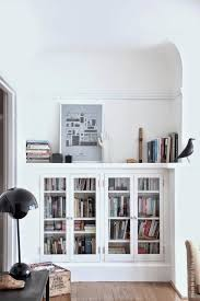 Ikea White Bookcase With Glass Doors Best 25 Bookcase With Glass Doors Ideas On Pinterest Ikea