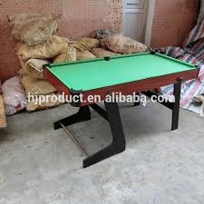 4ft pool table folding 6ft or 5ft folding pool table yuanwenjun com
