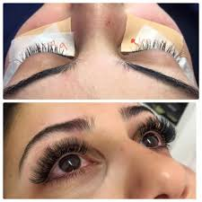 At Home Eyelash Extensions Classic Lashes Vs Volume Lashes Buff U0026 Co Lashes And Beauty