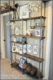 pvc pipe shelves storage