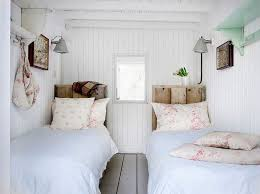 20 beds with beautiful wooden headboards