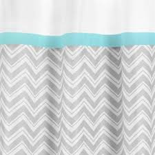Gray And Teal Shower Curtain Yellow Fabric Shower Curtain Foter