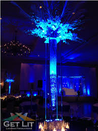 Lights In Vase Centerpiece Lighting