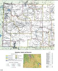 Topographic Map Of Usa by Wyoming Topographic Mapfree Maps Of North America